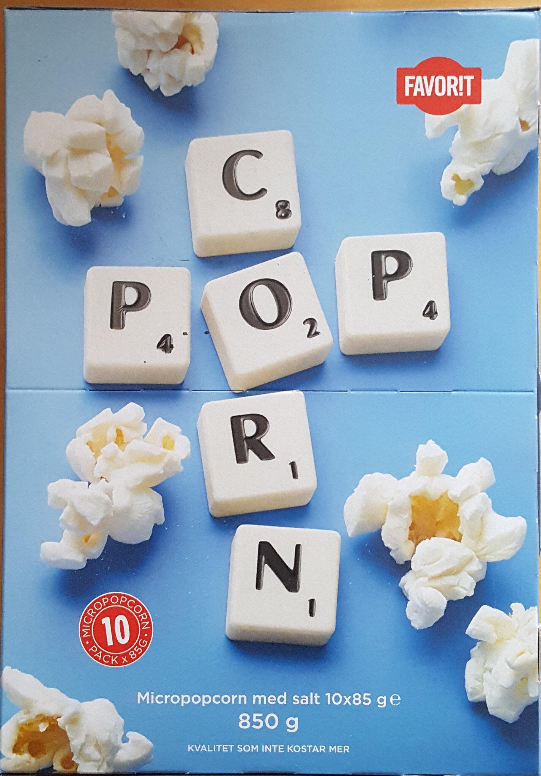 Popcorn - Produit - sv