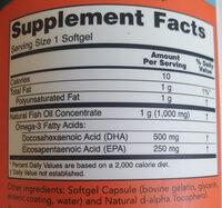 DHA-500 - Ingredienti - en
