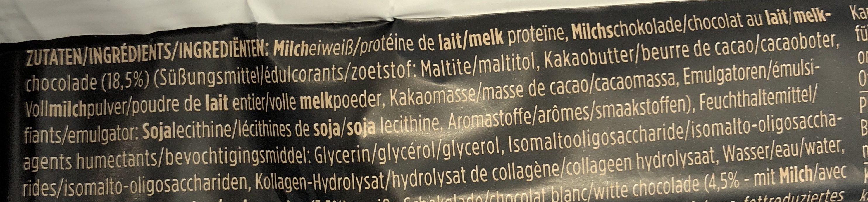 Protein Bar, Caramel Cashew - Ingrédients - fr