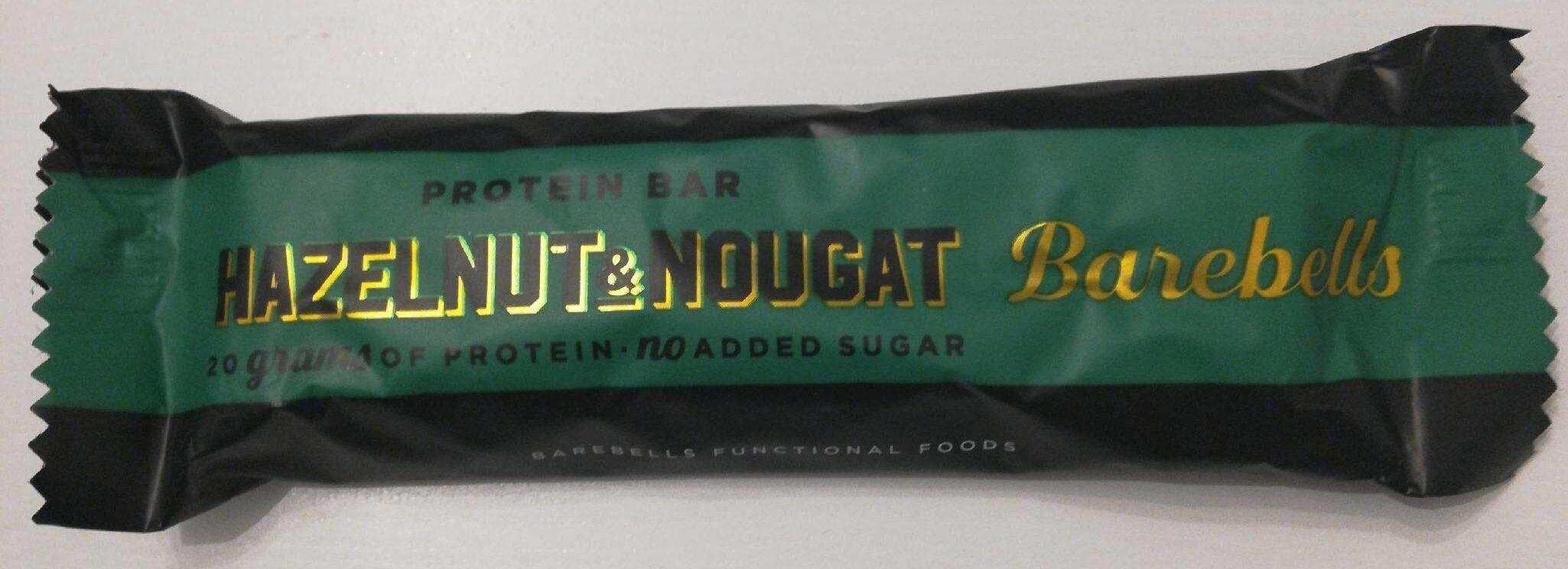 Protein Bar hazelnut & nougat - Produit - fr