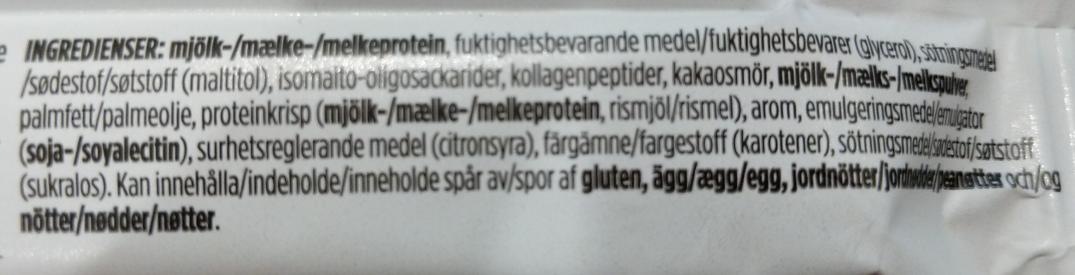 Lemon Curd White Chocolate - Ingrédients - sv