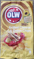 OLW Grilled Cheese & Onion Chips - Texas style - Product