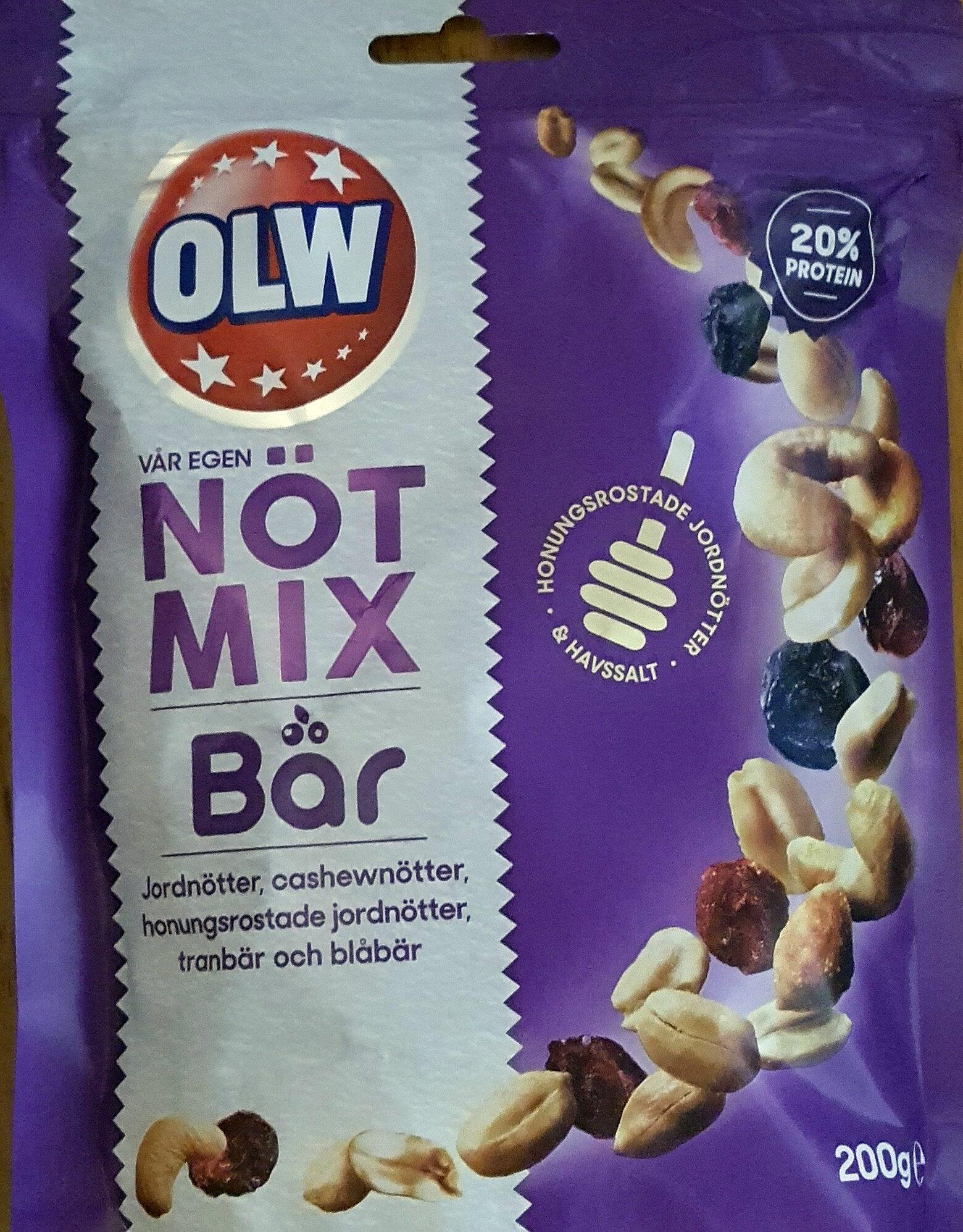 Nöt Mix - Bär - Produit - sv