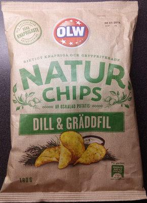 OLW Naturchips Dill & Gräddfil - Product