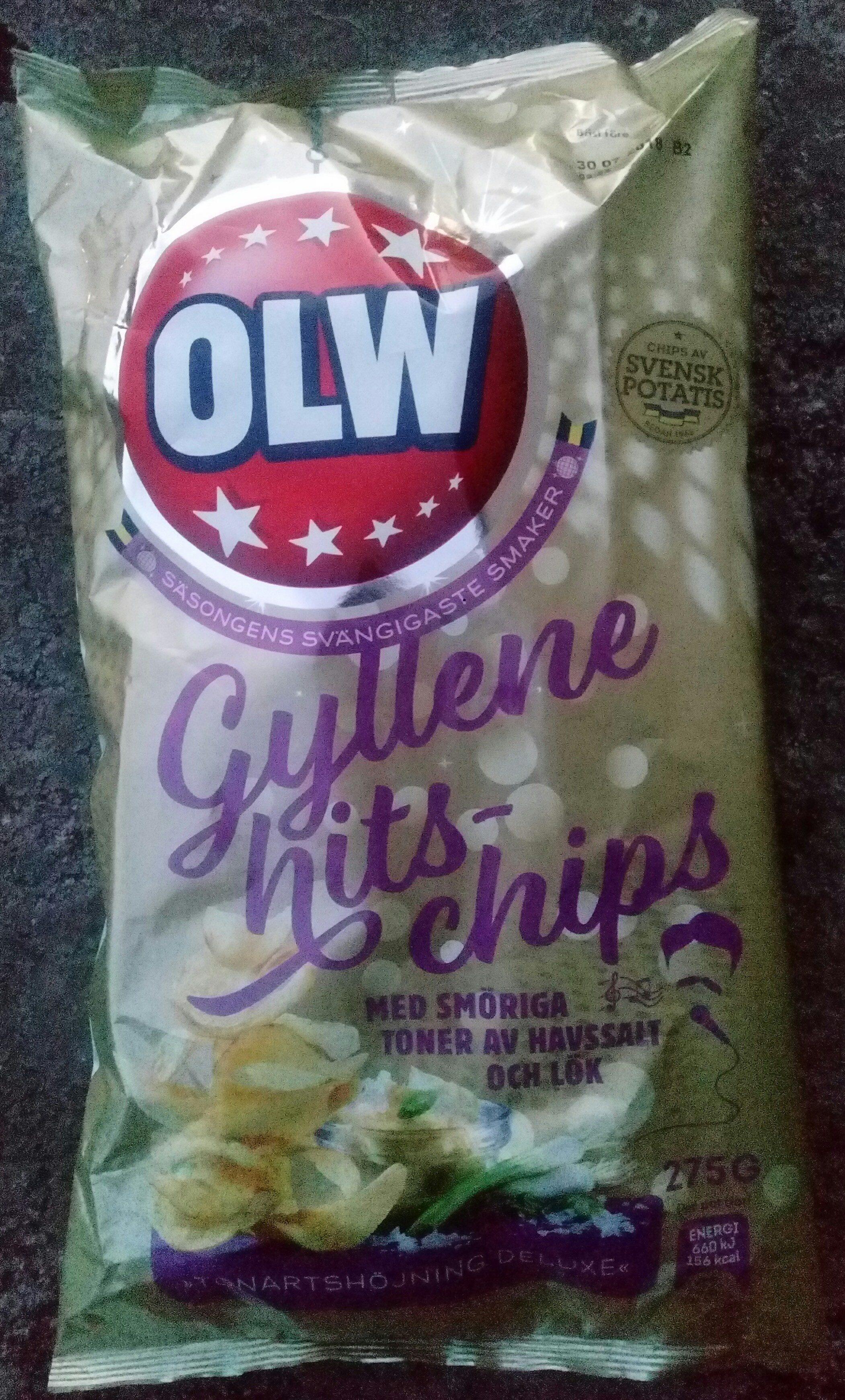 OLW Gyllene hits-chips - Product - sv