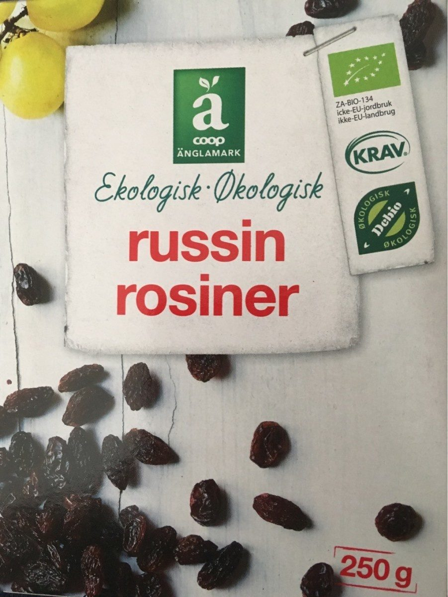 Russins rosiner - Product - fr