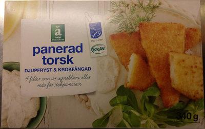 Coop Änglamark Panerad torsk - Produit