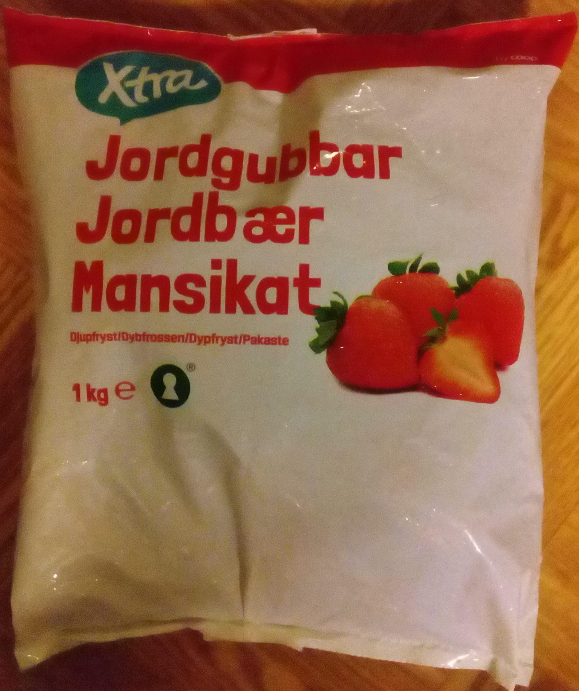 Coop X-tra Jordgubbar - Produit - sv