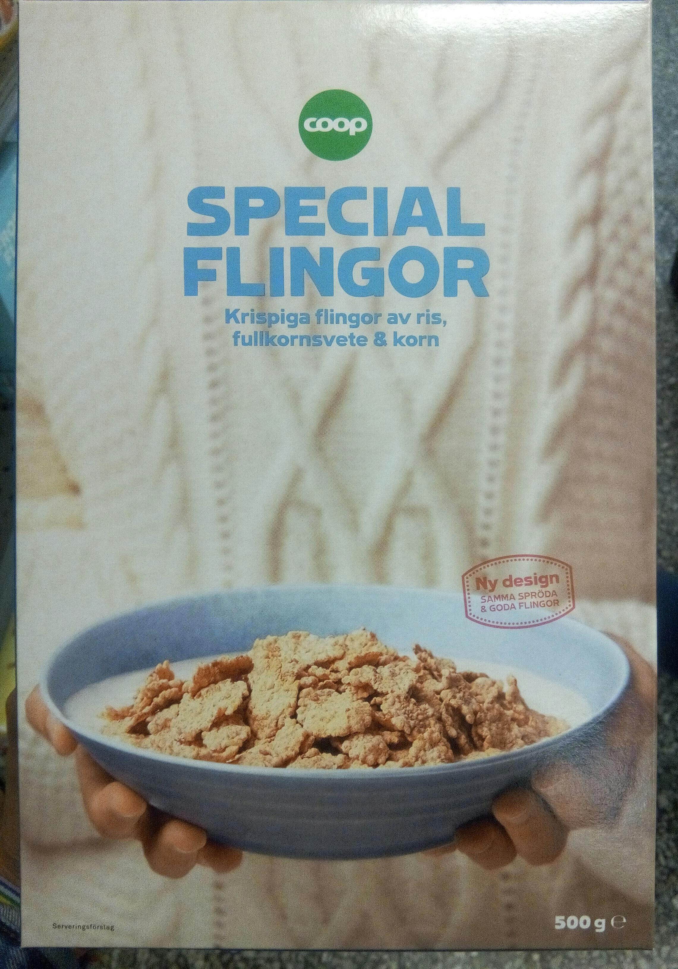 Special flingor - Produit - sv