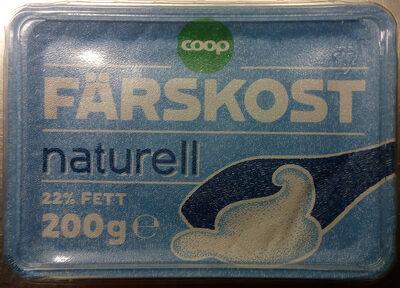 Coop Färskost Naturell - Produit