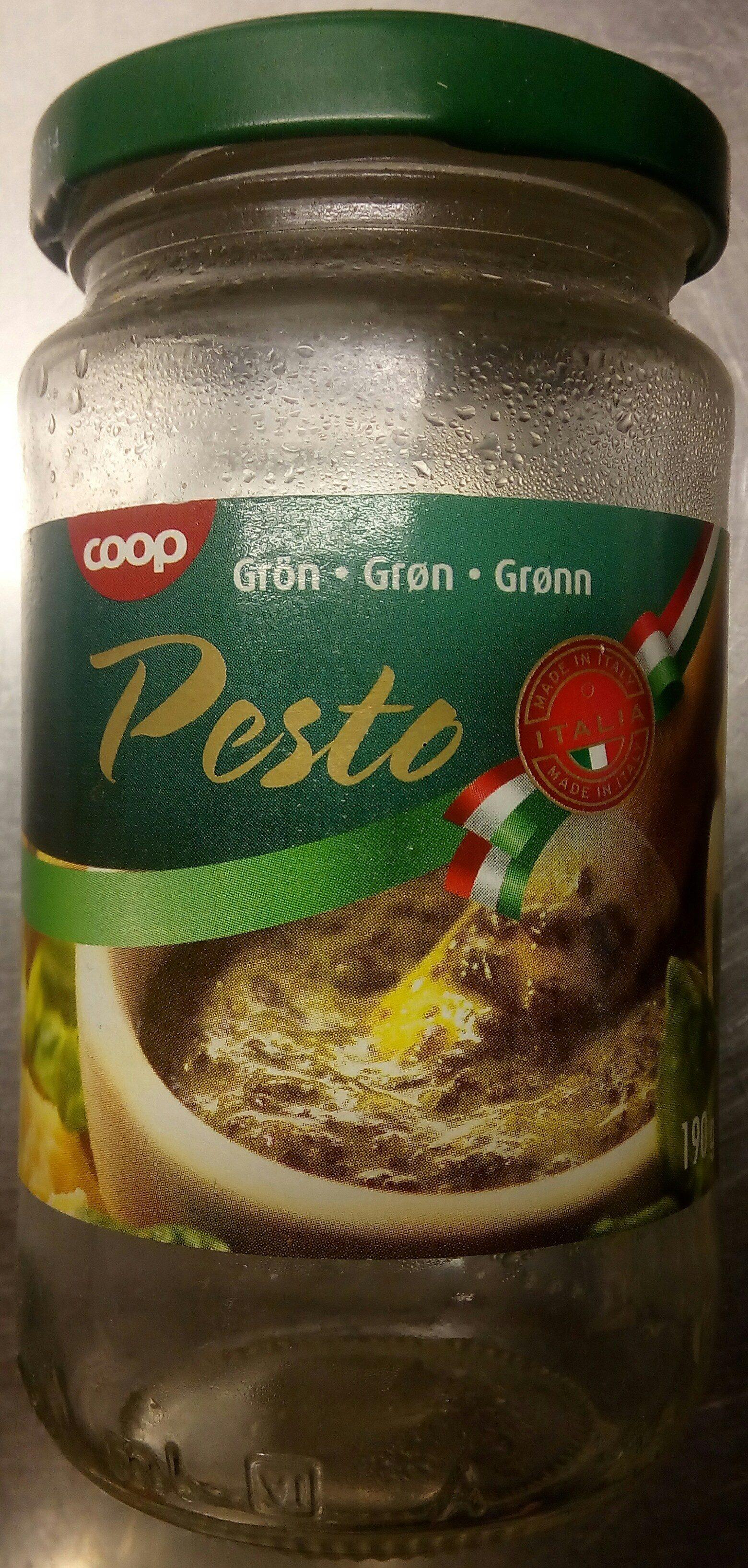 Coop Grön Pesto - Produit - sv
