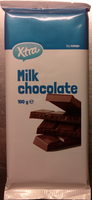 Coop X-tra Mjölkchoklad - Product - sv