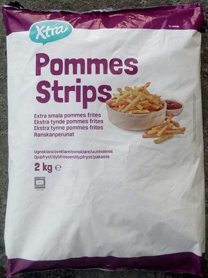 Coop X-tra Pommes strips - Produit