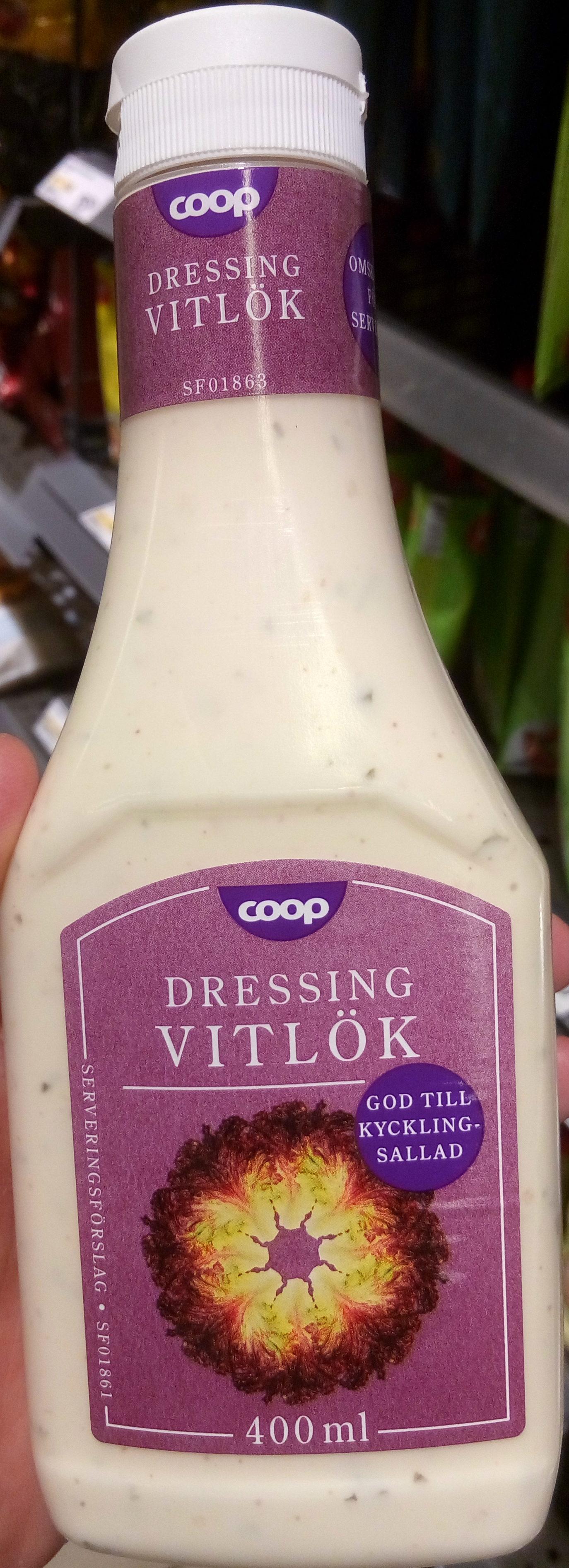Coop Dressing Vitlök - Produit - sv