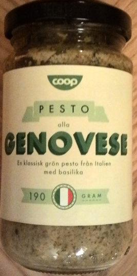 Coop Pesto alla Genovese - Produit - sv