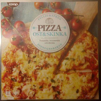 Pizza ost & skinka - Produit - sv