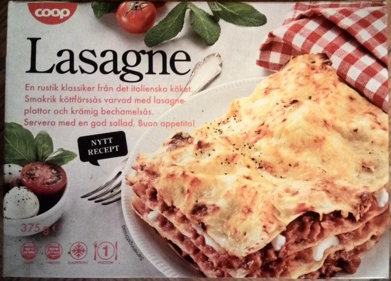 Coop Lasagne - Produit