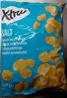 Coop X-tra Saltade potatischips - Produit - sv