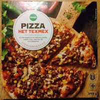 Coop Pizza Het texmex - Produit - sv