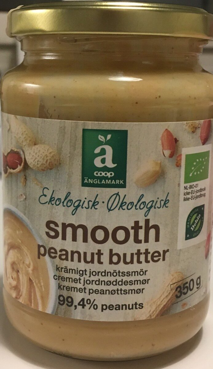 Smooth Peanut butter - Producto - sv