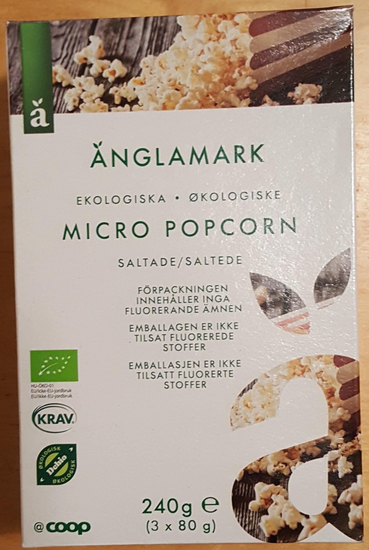 Micro Popcorn - Produit - sv