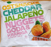 Ostsnacks Cheddar jalapeño nuggets - Goda & krämiga - Product