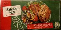 Hälsans Kök Vardagsfavoriter Veganska burgare - Product
