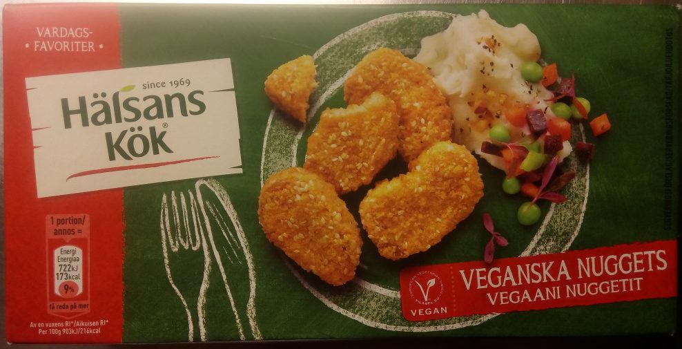 Hälsans Kök Vardagsfavoriter Veganska Nuggets - Produit - sv