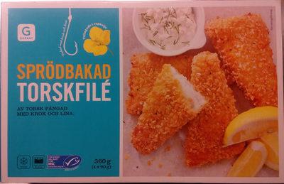 Garant Sprödbakad torskfilé - Produit - sv