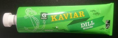 Kaviar, dill, mildrökt - Produit - sv
