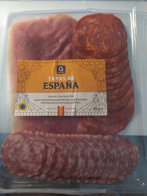 Tapas de España - Produit - sv