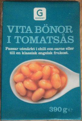 Garant Vita bönor i tomatsås - Produit - sv