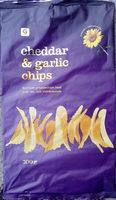 Garant Cheddar & garlic chips - Product