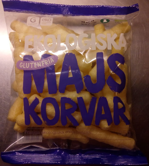 Garant Ekologiska Majskorvar - Produit - sv