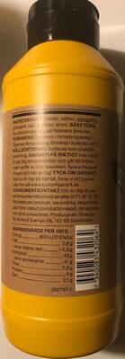 Garant Finmald senap stark och söt - Ingrédients