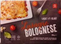 Garant Lasagne Bolognese - Produit