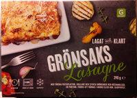 Garant Grönsakslasagne - Produit - sv
