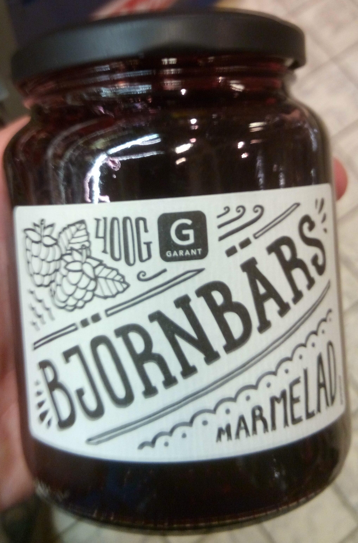 Bjornbars Marmelad - Produit - sv
