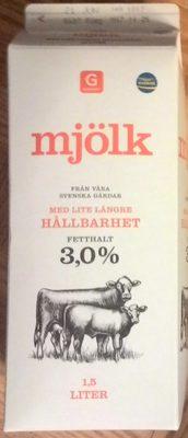 Mjölk med lite längre hållbarhet - Produto - sv