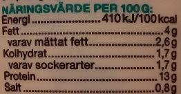 Garant Ekologisk cottage cheese - Informations nutritionnelles - sv
