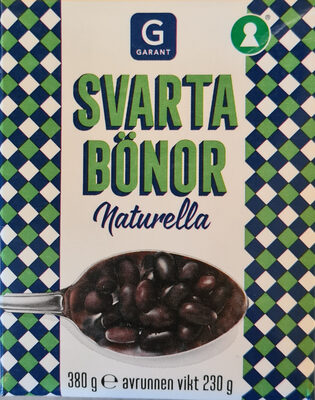 Svarta bönor - Produit - sv