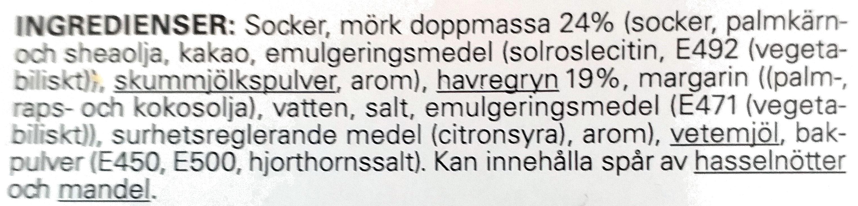 Chokladflarn - Ingredients - sv