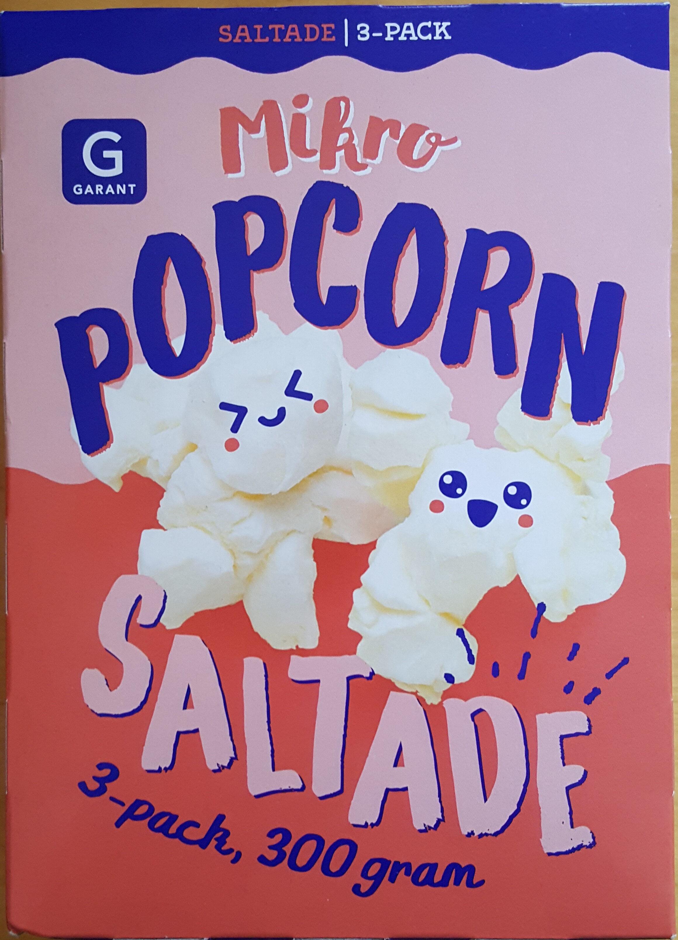 Micropopcorn - Saltade, 3-pack - Produit - sv