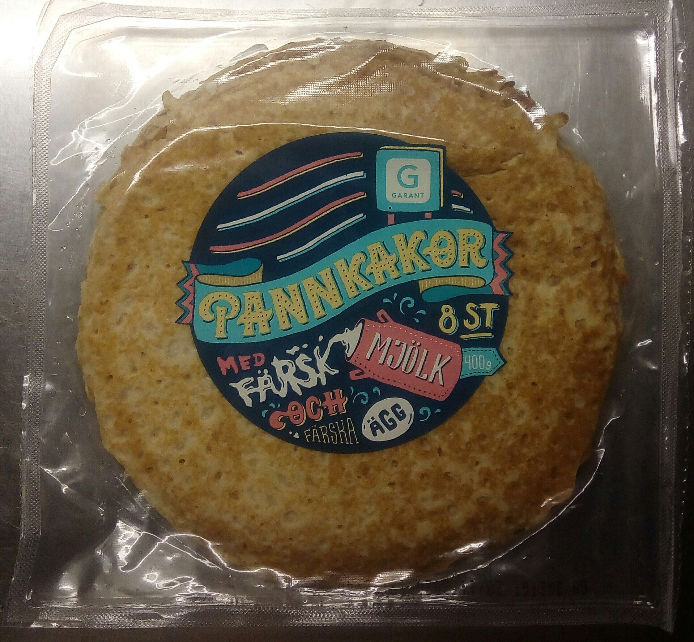 Garant Pannkakor - Produit - sv