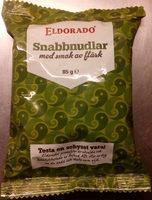 Eldorado Snabbnudlar med smak av fläsk - Produit