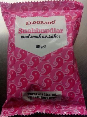 Eldorado Snabbnudlar med smak av räkor - Produit - sv