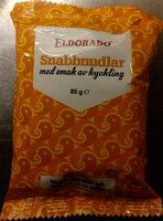 Eldorado Snabbnudlar med smak av kyckling - Product - sv