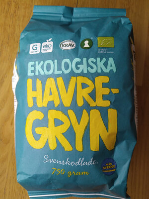 Ekologisk havregryn - Produit - sv