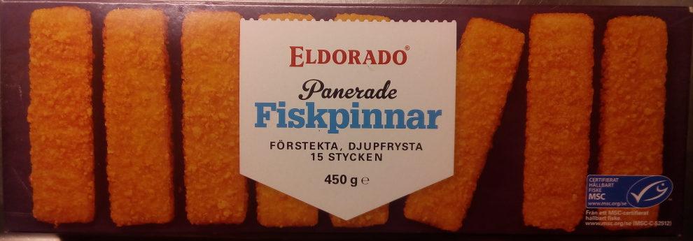 Eldorado Panerade Fiskpinnar - Produit - sv