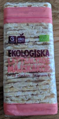 Ekologisk Lättsaltade Majskakor - Produit - sv